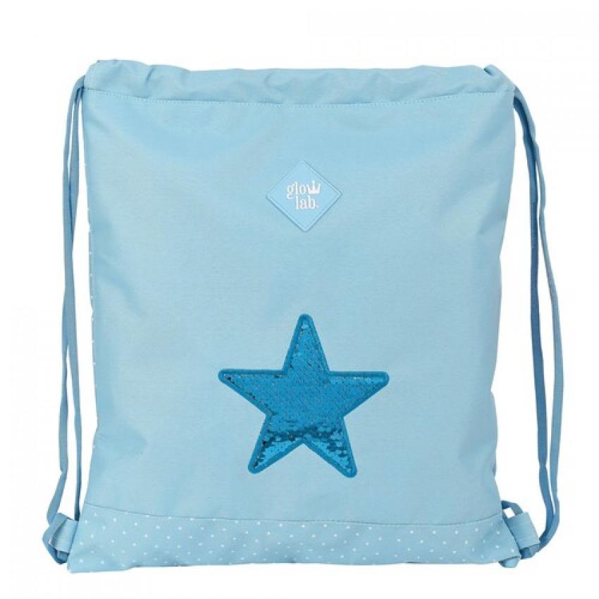 SACO PLANO GLOWLAB STAR 35x40cm 8412688441617