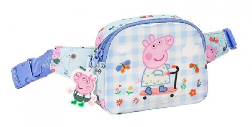 RIñONERA INFANTIL NIñA PEPPA PIG URBAN FARMER 14x11x4cm 8412688445189