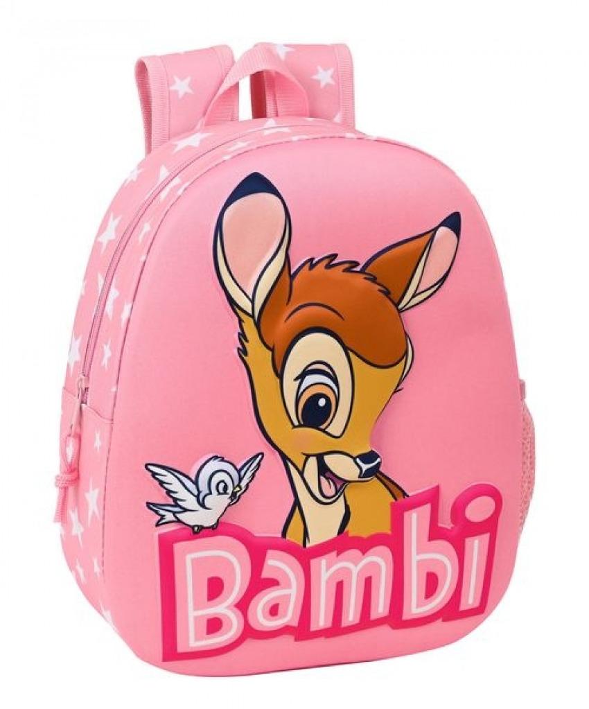 MOCHILA 3D BAMBI 27x32x10cm 8412688446896