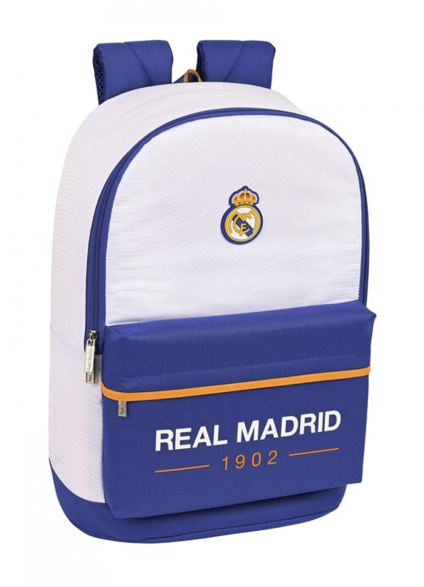 MOCHILA ADAPTABLE A CARRO REAL MADRID 1a. EQUIPACION 21/22 31x47x15cm 8412688448111