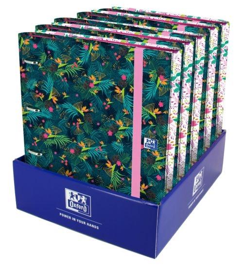 Exp 10 carpeta recambio europeanbinder a4+ 100h 90g cuadricula 5x5 blossom 8412771037062
