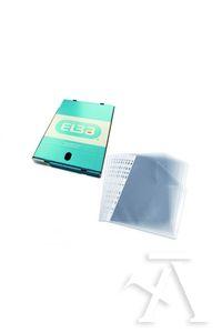 C/100 fundas portadocumentos fo. multitaladro pp standard 80mc piel naranja 8412771206178
