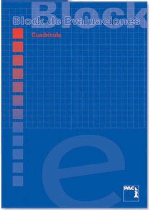 BLOC DE EXAMEN A4 50H 60G 1HORIZONTAL PACSA 8412855187553