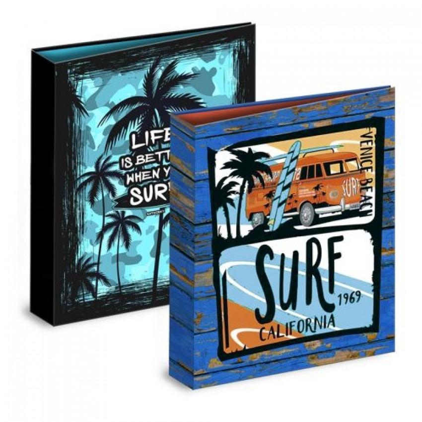 C/4 CARPETA Fo. 4 ANILLAS 35MM PALM SURF SURTIDO 8412885184652