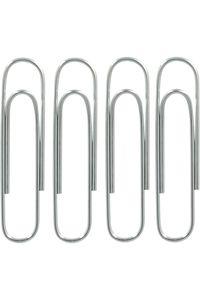 Pack 10 cajas con 100 clips galvanizados 42mm no. 3 grafoplas 8413623047291