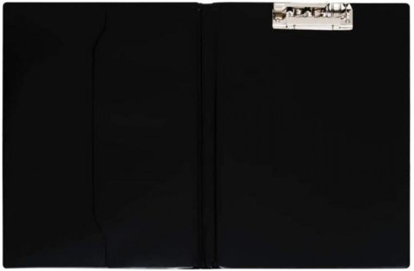 Carpeta fo. con pinza superior pvc color negro con bolsa interior 8413623157006
