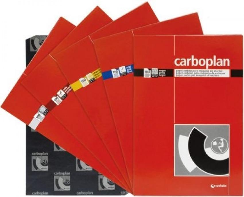 PAQ/100 HOJAS PAPEL DE CALCO AZUL 210X330MM CARBOPLAN 8413623205165