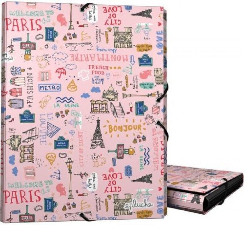 CARPETA Fo. GOMAS Y SOLAPAS EPLUCHE PARIS 8413623251537