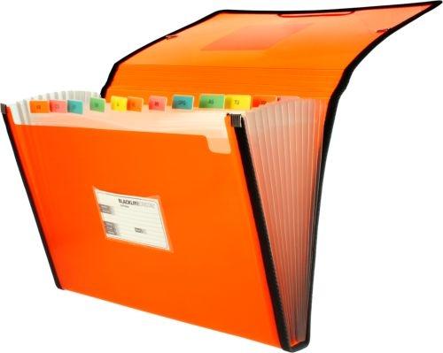 Carpeta fuelle Fo. naranja polipropileno 13 departamentos con ribete 8413623296804