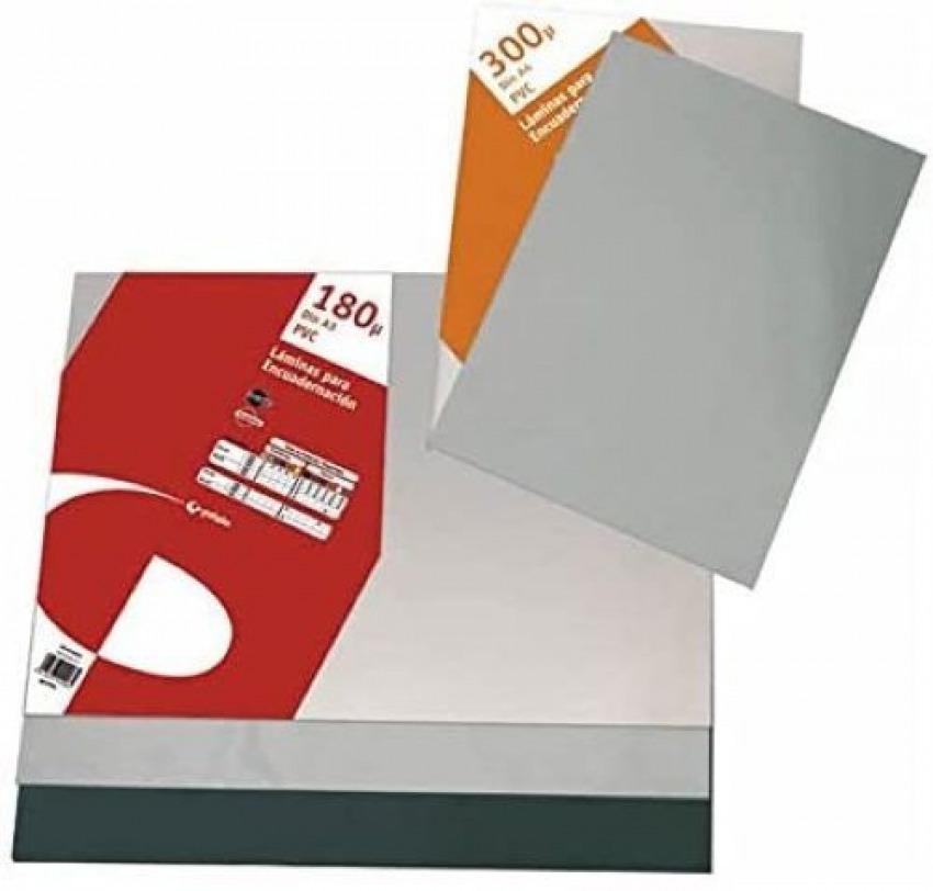 Caja 100 tapas de encuadernación a4 pvc 180 micras transparente 8413623440009