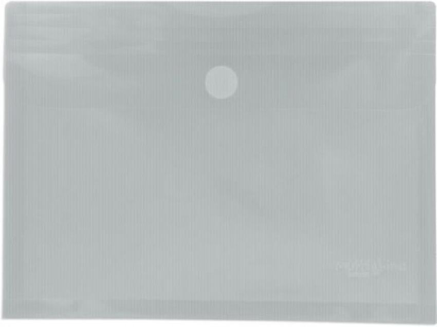 Paq/5 carpeta sobre fo. tranparente con fuelle velcro pp multiline 8413623488131