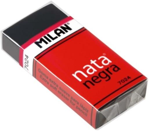 C/20 gomas milan 7024 soft black con funda 8414034070243