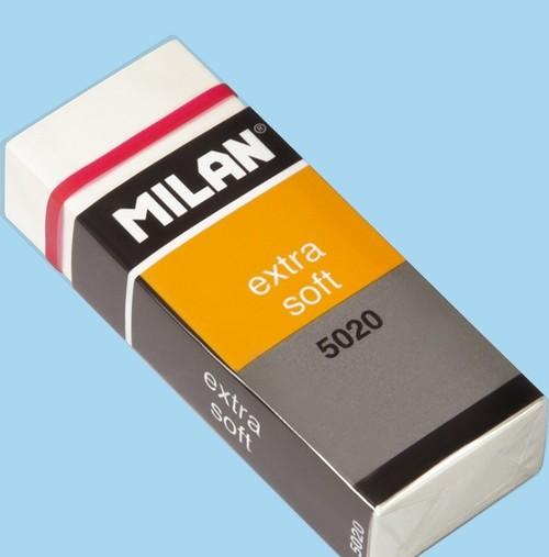 C/20 gomas milan 5020 plastico blandas con funda 8414034650216