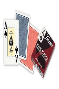 Baraja Poker Ingles (55 cartas plastico) no. 2800 - 2 Indices Gigantes 8420707351786
