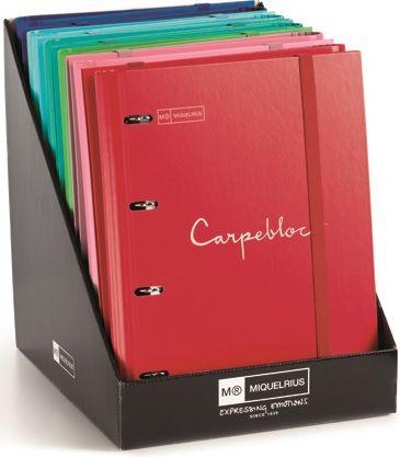 Exp 10 carpebloc a4 4 anillas + recambio 100 hojas emotions &tie dye 8422593142004