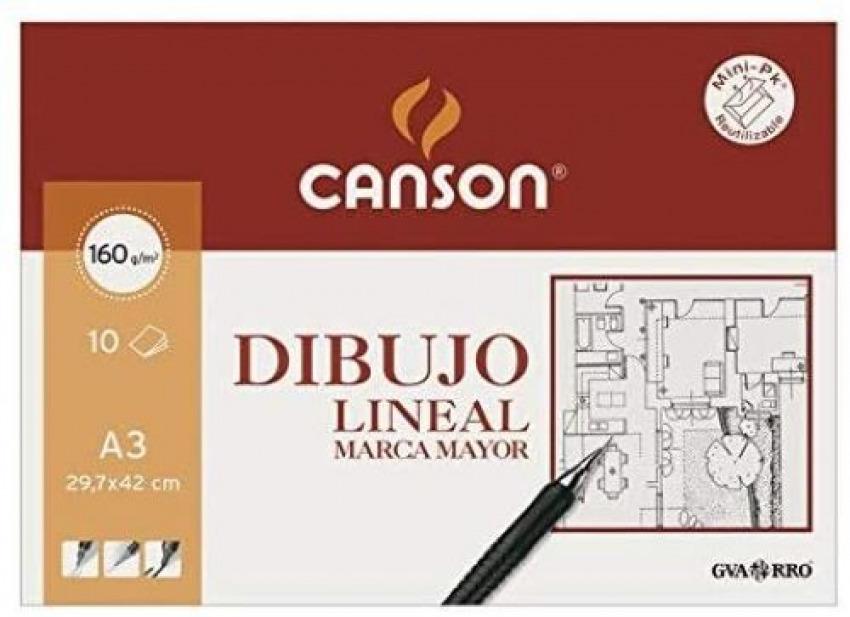 Minipack 10 laminas dibujo marca mayor a3 160g 8422714089911