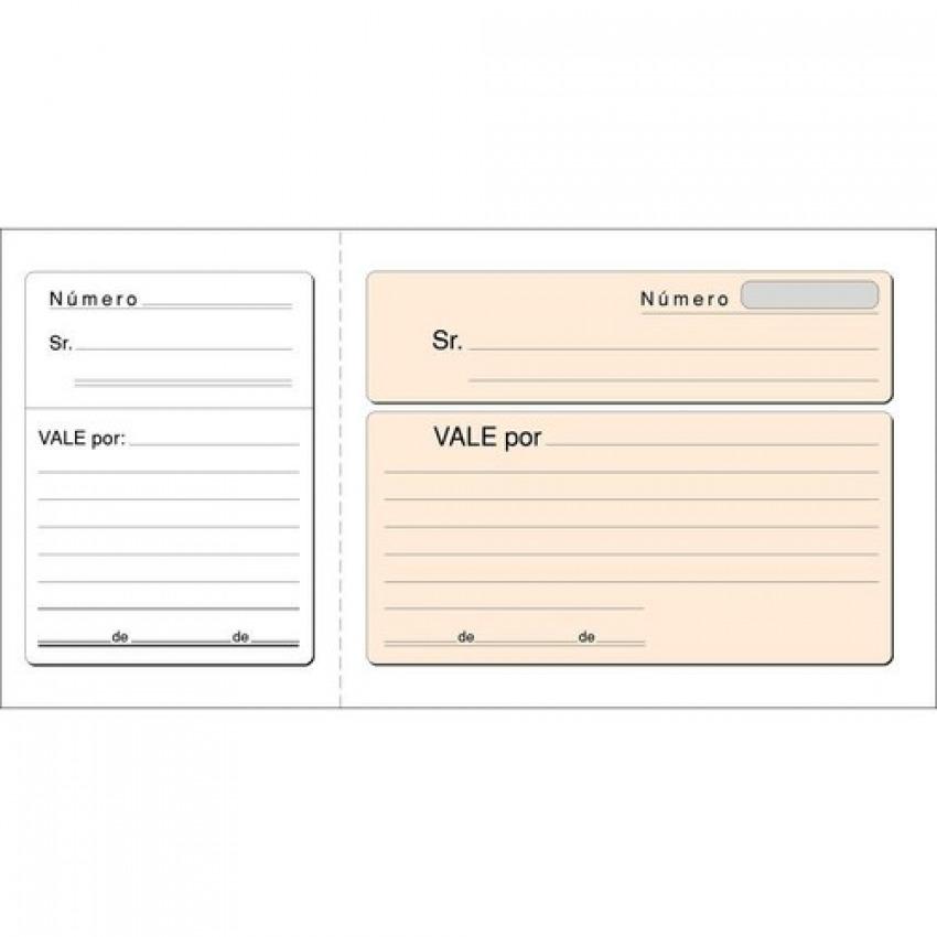 PAQ/10 TALONARIOS DE VALE CON I.G.I.C. 21X10,5CM LOAN 8422742510142