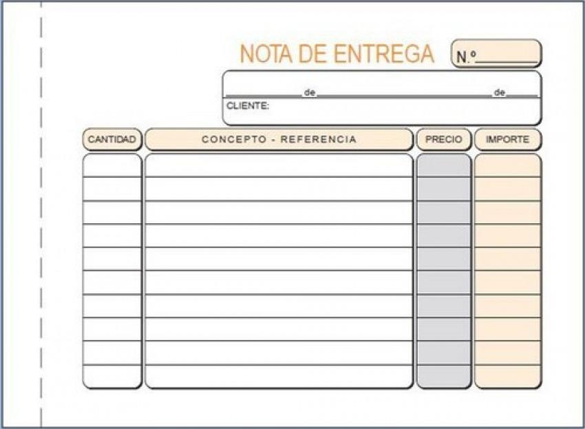 PAQ/10 TALONARIOS DE ENTREGAS 1/8 APAISADO DUPLICADO AUTOCO 8422742620797