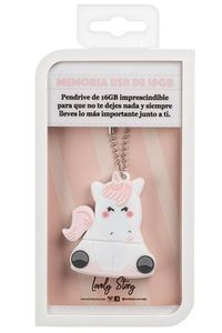 MEMORIA USB PENDRIVE UNICORNIO 16GB LOVELY