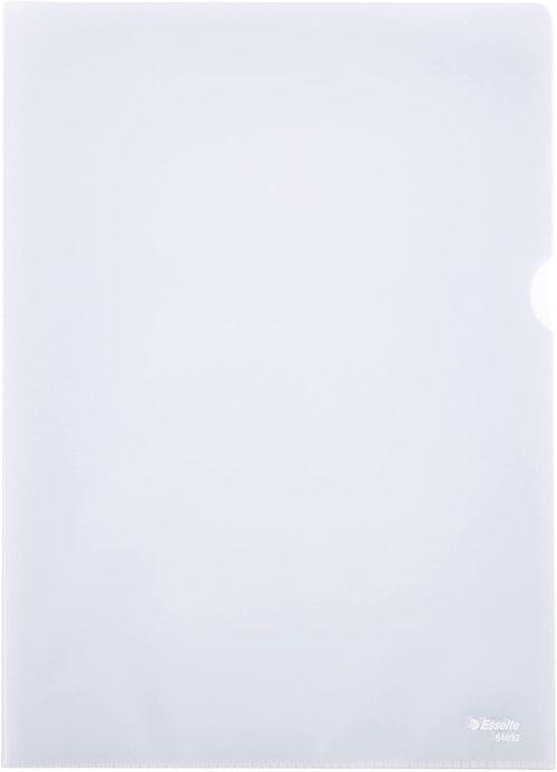 Paq/10 fundas dossier uñero a4 polipropileno transparente 130 micras 8422951019849
