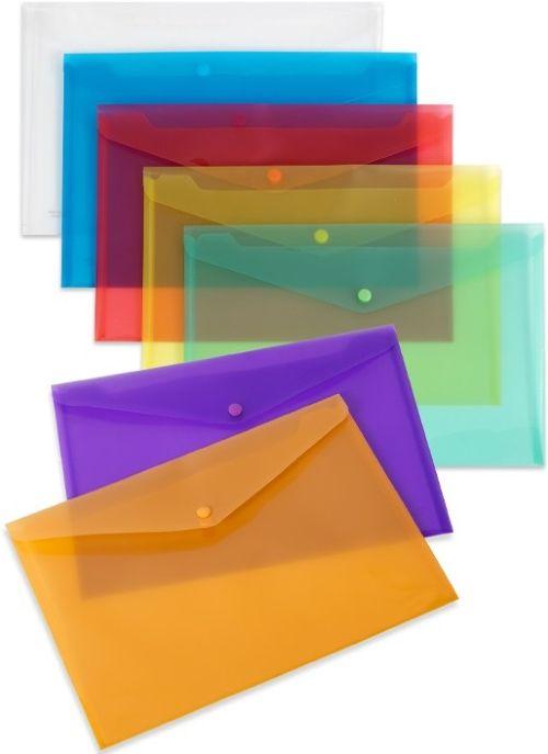 Paq/10 carpeta sobre fo. cierre broche pp lila 8422951027783