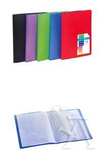 Paq/5 carpeta 30 fundas soldadas a5 tapa flexible colores surtidos carchivo 8422951053898
