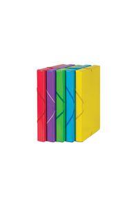 Pack 6 carpetas de proyectos fo. lomo 25mm polipropileno colores surtidos 8422951058909