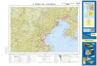 (151).mapa topografico pobra caramiñal (1:50.000) 8423434015105