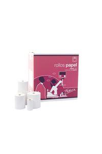 PACK 10 ROLLOS PAPEL TERMICO SIN BPA 57X40X12MM FABRISA 8423614177548