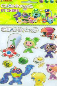 CLANNERS STICKERS 105X205 8424248999995