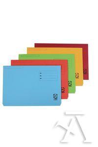 Paq/10 subcarpetas a4 bolsa y solapa 320g colores pastel surtidos 8427291014943