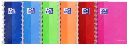 (abono) agenda escolar 21/22 basicos 8 school s/v oxford 8427291027851