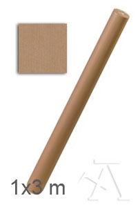 C/30 rollos papel kraft verjurado marron 1x3 m sadipal 8427973106256