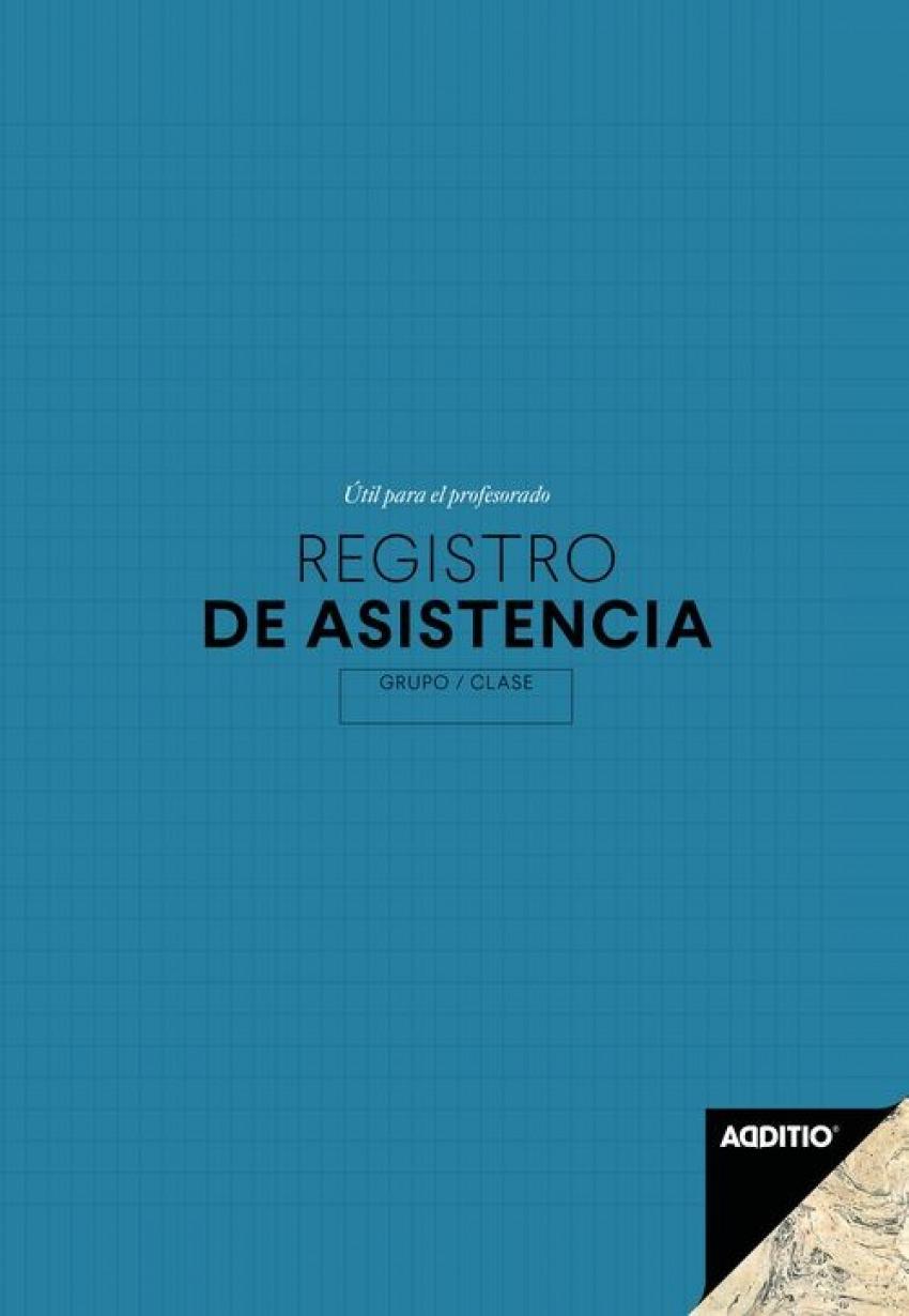CUADERNO REGISTRO DE ASISTENCIA ESCOLAR 19.5X28.5CM 8428318011624