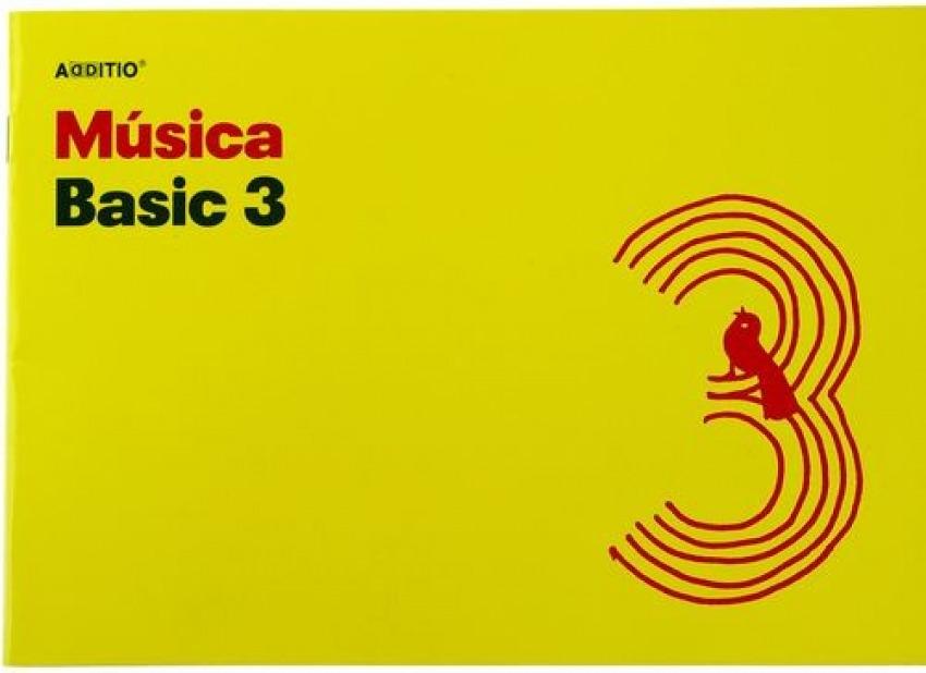 Cuaderno 4o. musica basic 3 pentagramas de 24mm por pagina 10 hojas 8428318012300