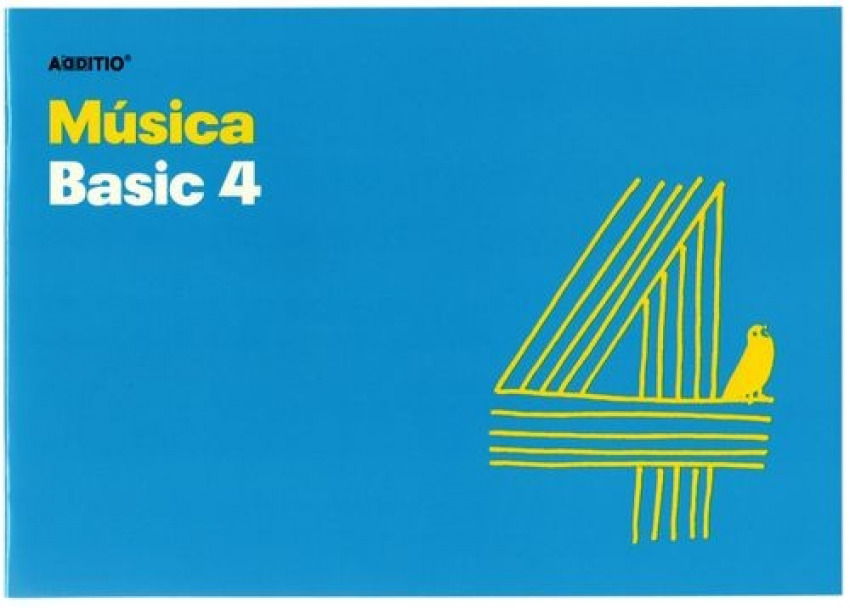 Cuaderno 4o. musica basic 4 pentagramas de 20mm por pagina 10 hojas 8428318012409
