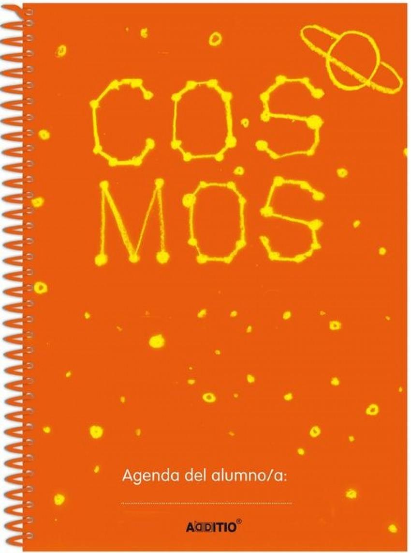 AGENDA ESCOLAR ESPIRAL COSMOS A5 64H RELAC. FAMILIA-ESCUELA 8428318026123