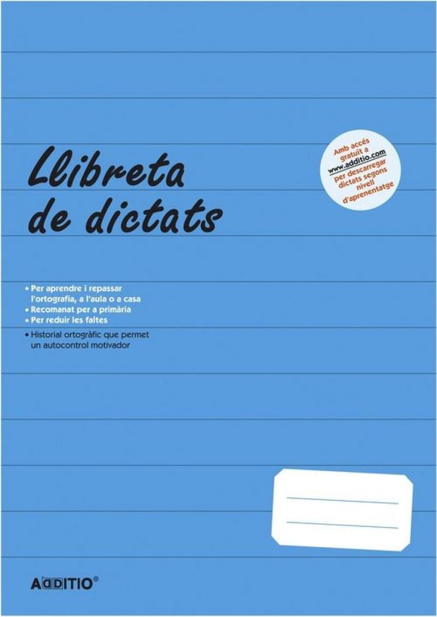 Llibreta de dictats primaria a4 64h 8428318071017