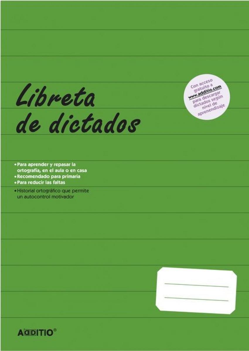 LIBRETA DE DICTADOS PRIMARIA A4 64H 8428318071024