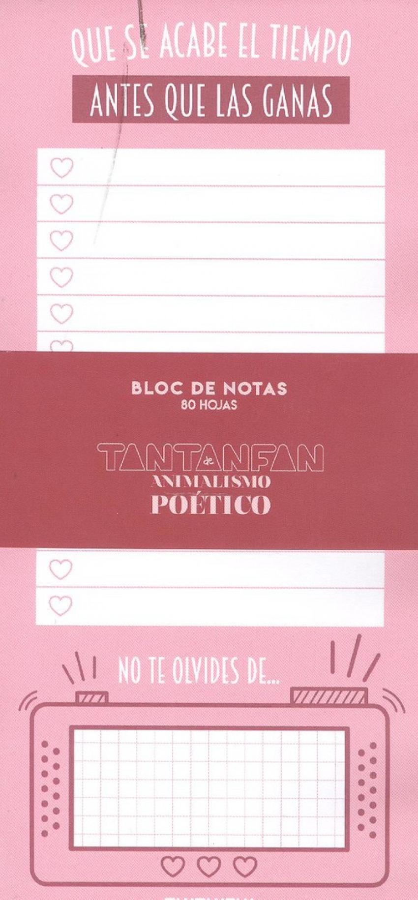 Bloc de notas animalismo poético 8432715127673