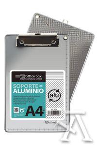 carpeta a4 con pinza superior aluminio 8435258092903