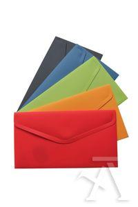 Paq/10 carpetas sobre recibo vital colors polipropileno cierre velcro colores surtidos 8435258905180