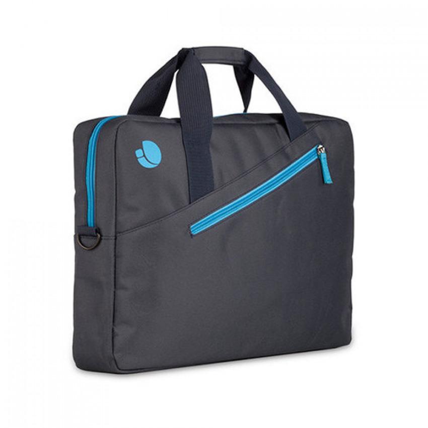 Maletin para portatil 15.6  monray azul con bolsillo exterior 8435430610048