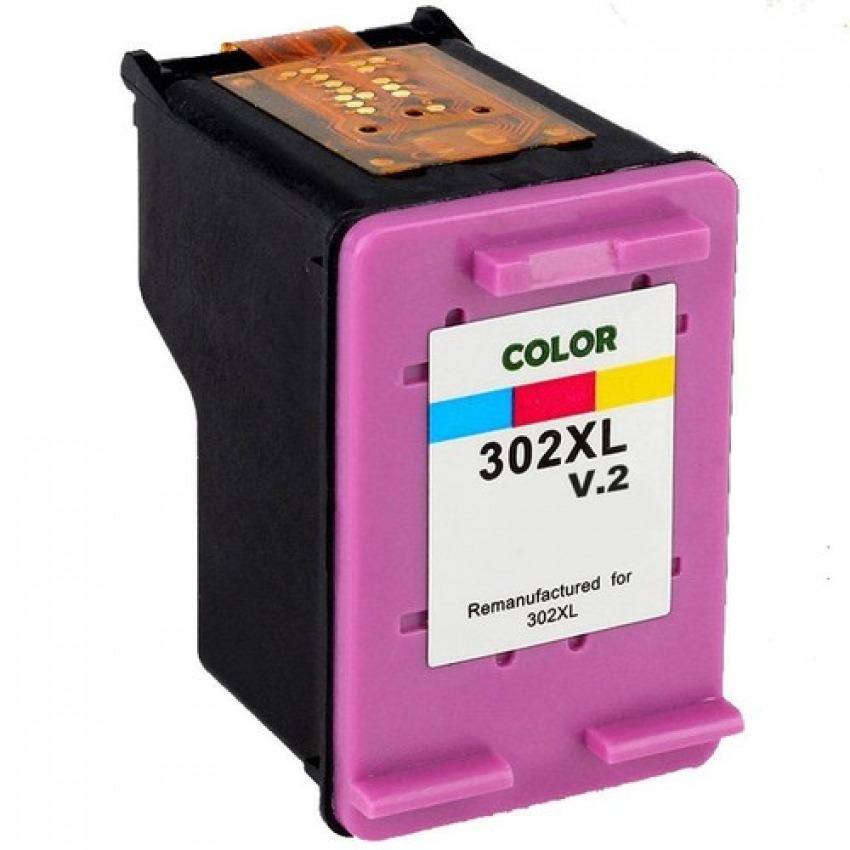 CARTUCHO TINTA COMPATIBLE HP 302XL COLOR 8435490620216