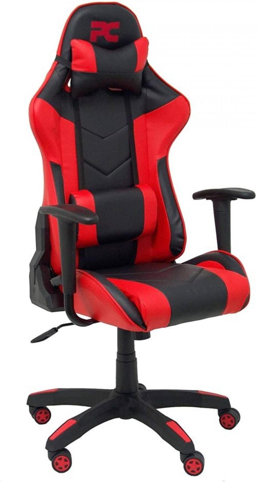 Silla gaming atalaya similpiel negro y rojo