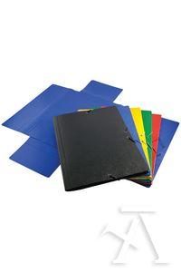 Paq/5 carpeta a3 gomas y solapas carton compacto colores sutidos 8436013256837