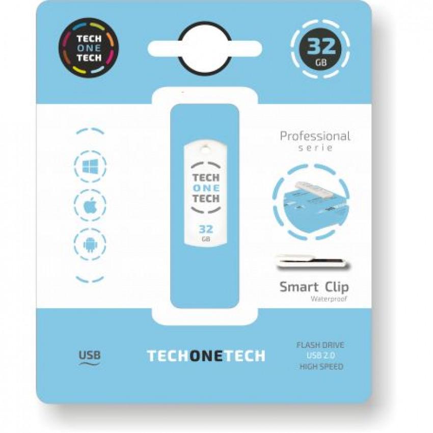 PENDRIVE 32GB USB 2.0 SMART CLIP 8436546592334