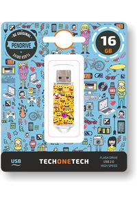 PENDRIVE 16GB USB 2.0 EMOJIS 8436546592372