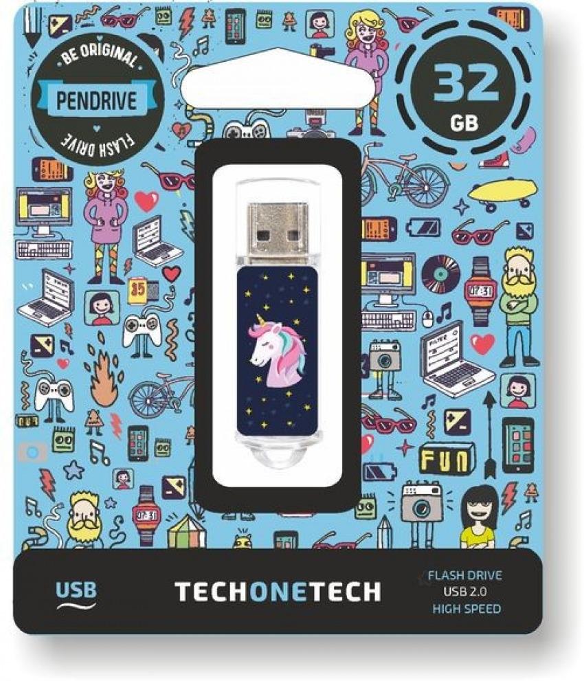 PENDRIVE 32GB USB 2.0 UNICORNIO DREAM 8436546592624