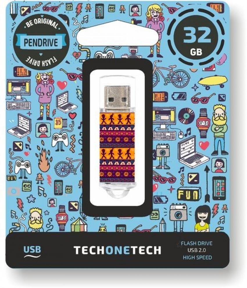 PENDRIVE 32GB USB 2.0 TRIBAL QUESTIONS 8436546592631